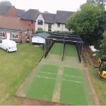 Aerial view of the Southwell CC new facility.